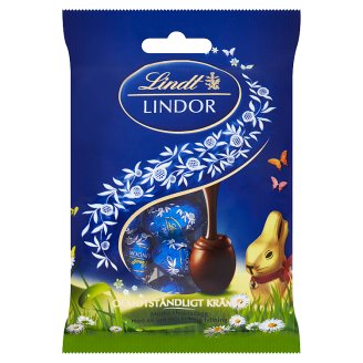 Lindt Lindor Mini Eggs Dark Chocolate with Fine Creamy Filling 100 g