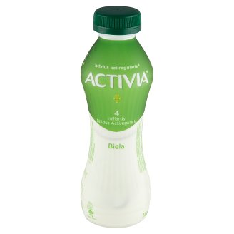 Danone Activia Biela jogurtový nápoj 310 g