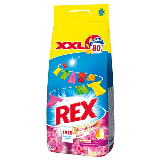 Rex Aromatherapy Malaysian Orchid & Sandalwood Color 80 Washes 5.6 kg