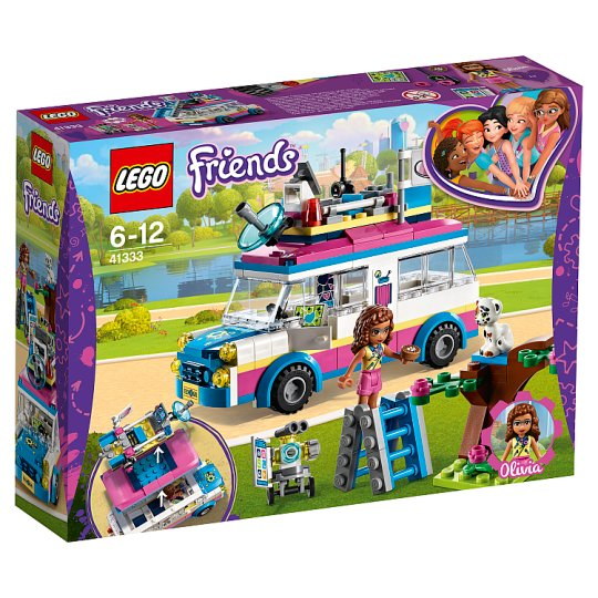 Lego Friends Olivias Mission Vehicle 41333 Tesco Groceries