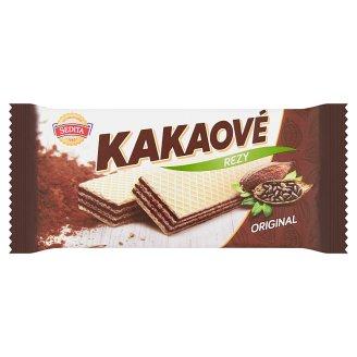 Sedita Kakaové rezy oblátky s kakaovou krémovou náplňou 50 g