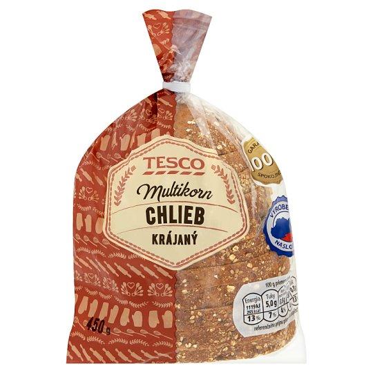 Tesco Multikorn Bread Sliced 450 g