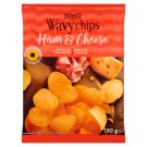 Tesco Wavy Chips Ham & Cheese 130 g