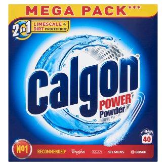 Calgon 2 v 1 Power prášok zmäkčovač vody 40 praní 2 kg