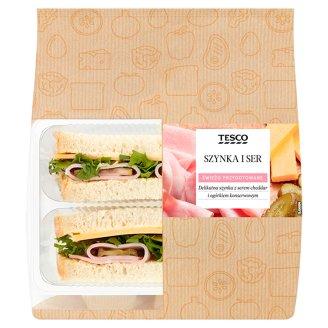 Tesco Sendvič šunka a syr 165 g