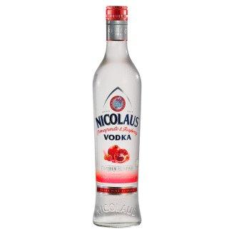 Nicolaus Vodka s príchuťou granátového jablka a maliny 38% 700 ml