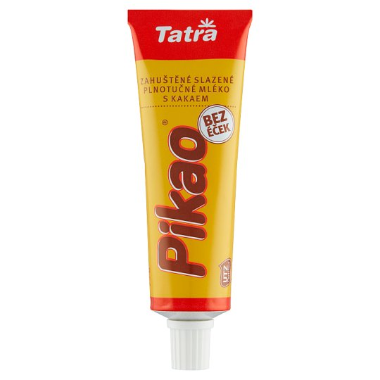 Tatra Pikao Sweetened Condensed Cocoa Milk with The Addition of Sucrose 75 g