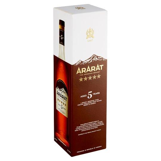 Ararat Aged 5 Years Brandy 0,7 l