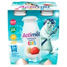 Danone Actimel Kids Yoghurt Milk with Vitamins B6 and D - Banana-Strawberry 4 x 100 g