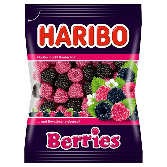 Haribo Berries Jelly Fruit Flavoured 100 g