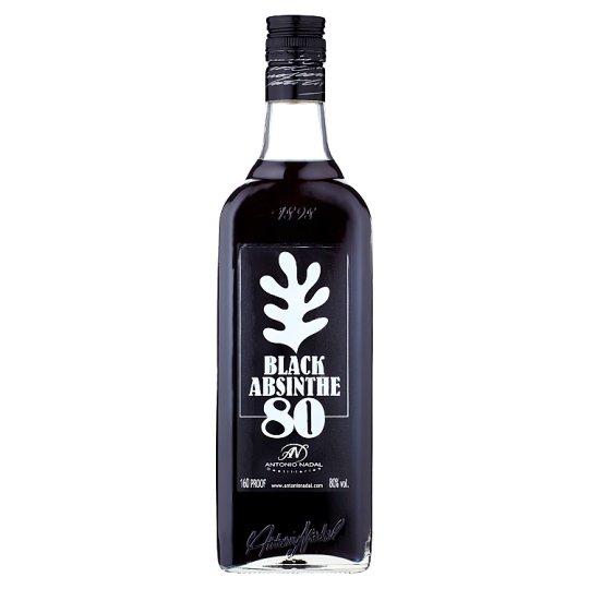 80 Black Absinthe absint 0,70 l