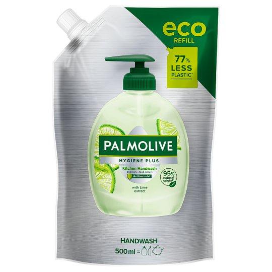 Palmolive Hygiene - Plus tekuté mydlo na ruky s výťažkom z limetky náhradná náplň 500 ml