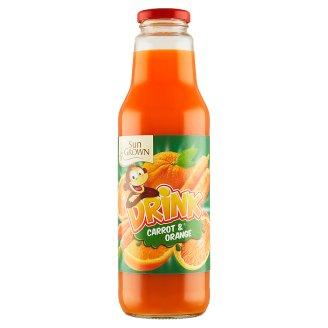 Sun Grown Zeleninovo-ovocný nápoj z mrkvovej šťavy a pomarančovej šťavy 750 ml