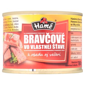 Hamé Pork in Own Juice 180 g