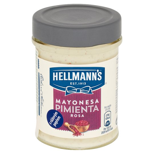 Hellmann's Mayonesa with Pink Pepper 190 ml