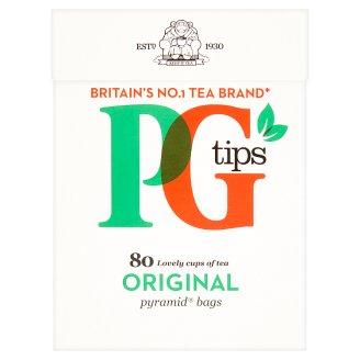 PG Tips Čierny čaj, porciovaný 80 pyramídových vrecúšok 232 g