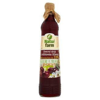 Natur Farm Ovocný sirup s višňovou šťavou 0,7 l