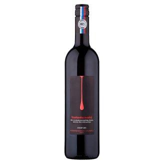 MVS Frankovka modrá akostné víno s prívlastkom neskorý zber červené suché 0,75 l