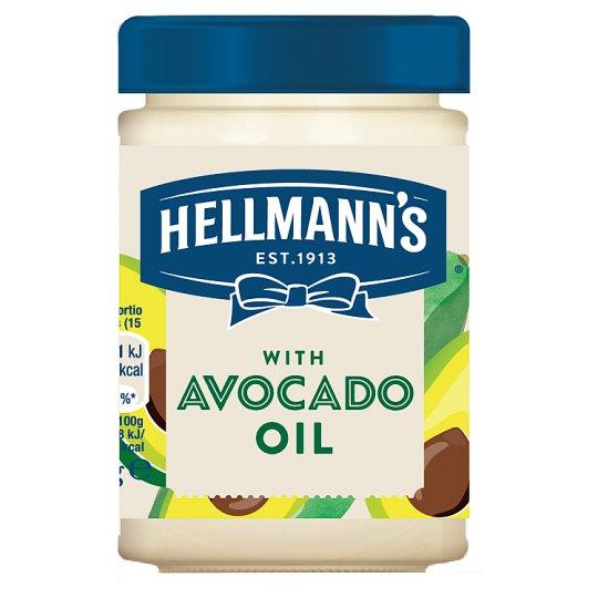 Hellmann's Majonézová omáčka s repkovým a avokádovým olejom 280 ml