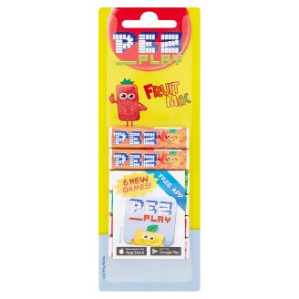 PEZ Play Fruit Sticks Fruit Mix Comprimate 6 x 8.5 g