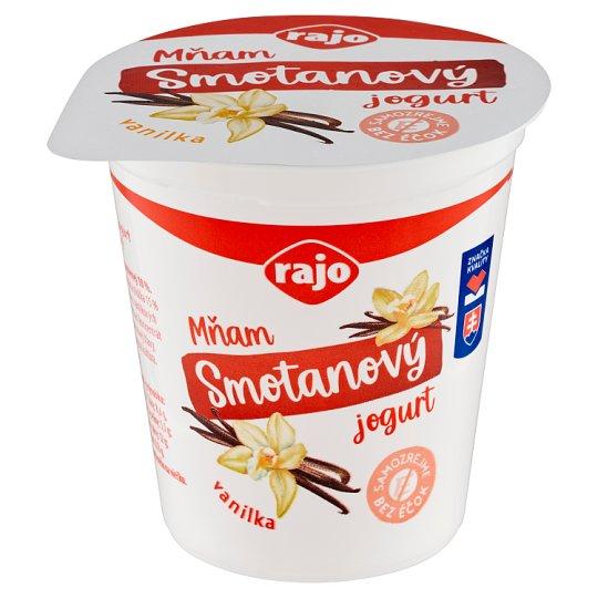 Rajo Mňam Duo Smotanový jogurt vanilkový 145 g