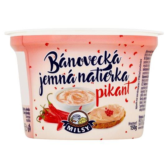Milsy Bánovecká Fine Spread Spicy 150 g