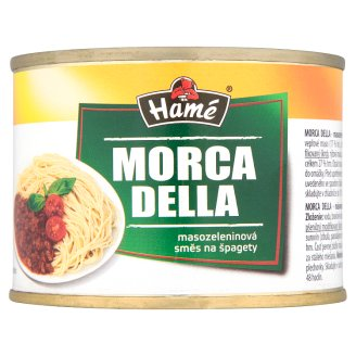 Hamé Morca Della Meat Vegetable Mixture for Spaghetti 180 g