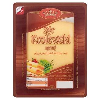 Krolewski Prírodný polovrdý udený syr 100 g