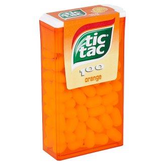 Tic Tac Dražé s pomarančovou príchuťou 49 g