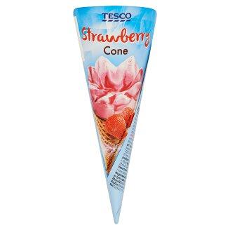Tesco Strawberry Cone 75 g