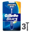 Gillette Blue3 Men's Disposable Razors – 3 Pack