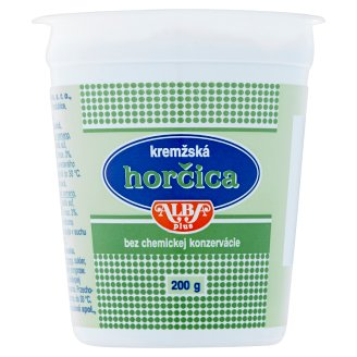 Alba Plus Wholegrain Mustard 200 g