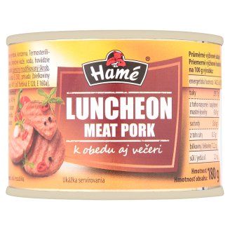 Hamé Luncheon Meat Pork 180 g