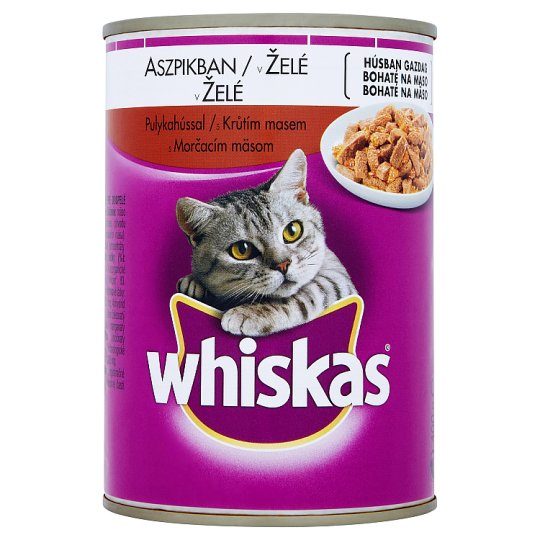 Whiskas with Turkey Meat in Jelly 400 g