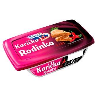 Karička Rodinka Spreadable Processed Cheese with Chilli 150 g