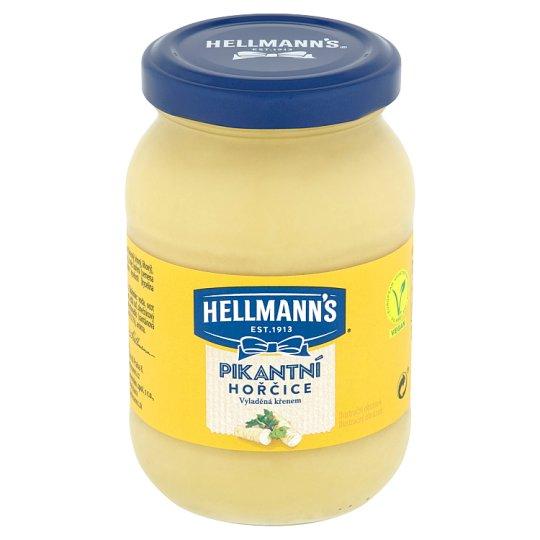 Hellmann's Mustard Spicy Tuned by Horseradish 240 g