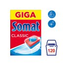 Somat Classic Tablet for Automatic Dishwashing 120 pcs 2100 g