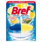 Bref Duo-Aktiv Mediterranean Lemon Liquid Toilet Block 50 ml