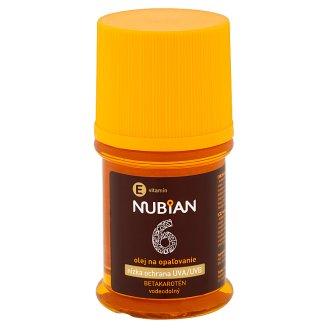 Nubian Olej na opaľovanie betakarotén SPF 6 60 ml
