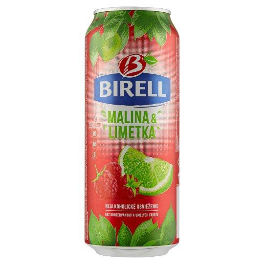 Birell Malina & limetka miešaný nealkoholický nápoj 0,5 l