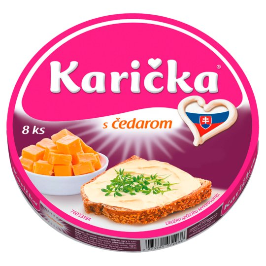 Karička with Cheddar 125 g