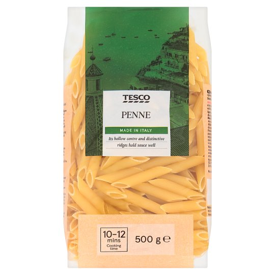 Tesco Penne Dried Egg-Free Semolina Pasta 500 g