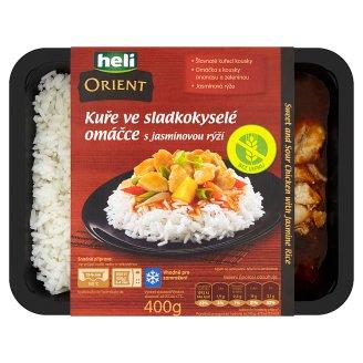 Heli Orient Kurča v sladkokyslej omáčke s jazmínovou ryžou 400 g