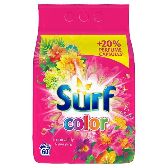 Surf Color Tropical Lily & Ylang Ylang prášok na pranie 60 praní 3,9 kg