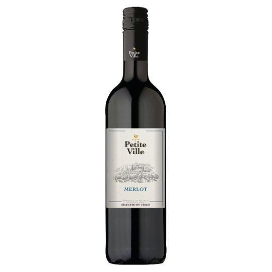 Petite Ville Merlot červené víno 750 ml