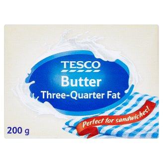 Tesco Maslo s trojštvrtinovým obsahom tuku 200 g