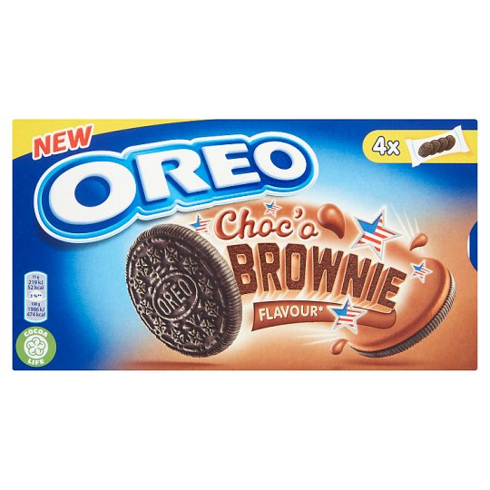 Oreo Choc'o Brownie Cocoa Biscuits with Cocoa Filling 176 g