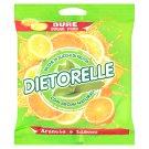 Dietorelle Drops so sladidlami s citrónovou príchuťou 70 g
