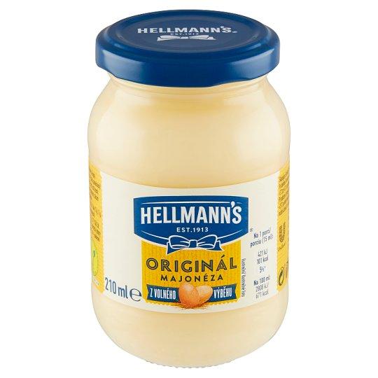 Hellmann's Mayonnaise Original 210 ml