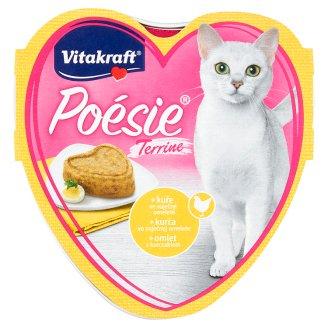 Vitakraft Poésie Terrine + kurča vo vaječnej omelete 85 g